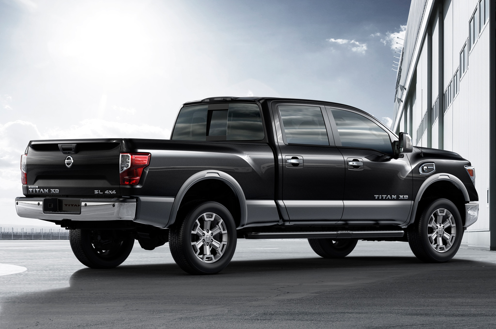 2016 nissan titan xd gas v 8 review. Black Bedroom Furniture Sets. Home Design Ideas