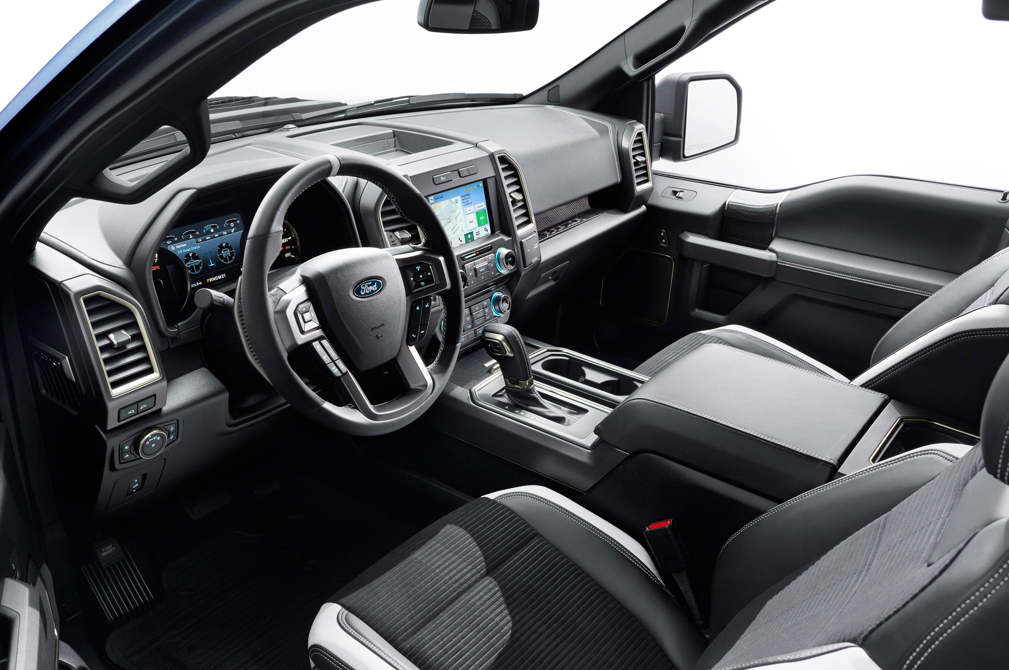 show more - Ford F150 Raptor Black Interior