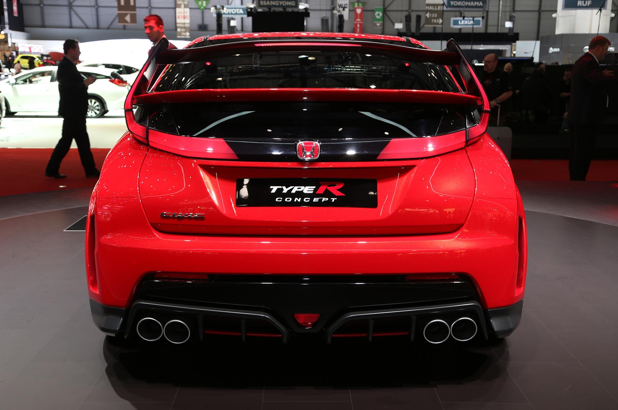 Production Honda Civic Type R Debuts at Geneva Auto Show