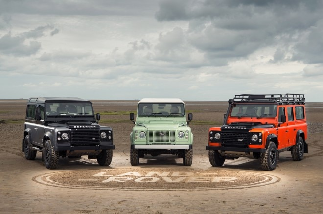 Land Rovers trio of Defender Limited Editions