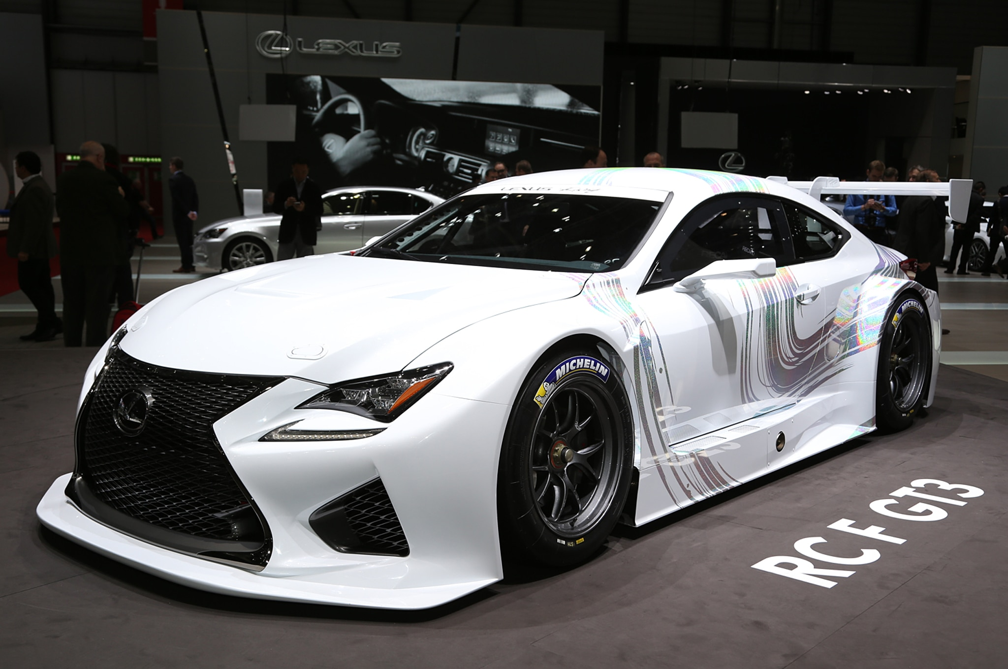 lexus set to go racing in 2016 with the rc f gt3. Black Bedroom Furniture Sets. Home Design Ideas