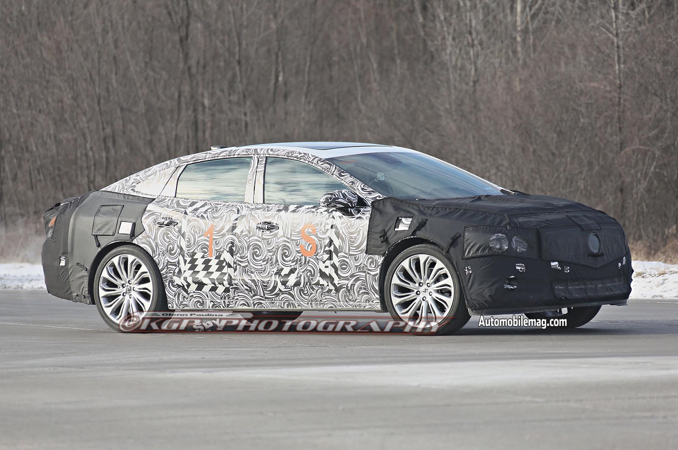 2016 Buick LaCrosse Spied Again