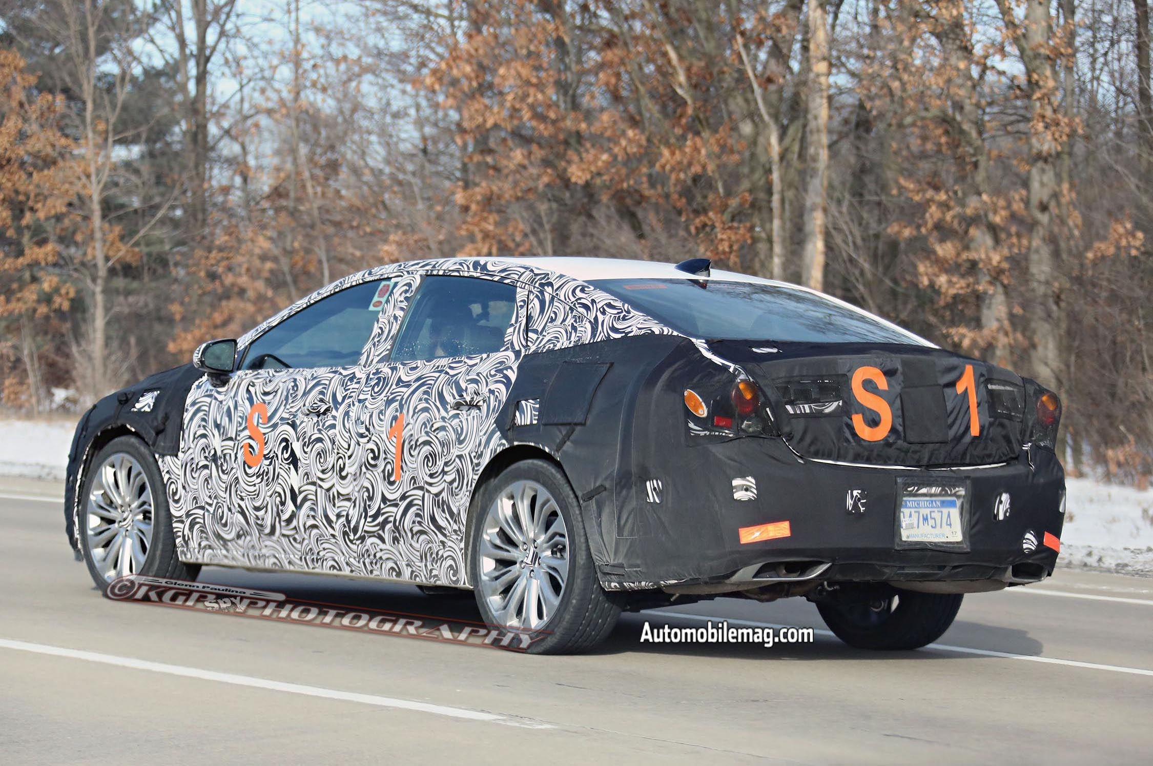 2016 buick lacrosse spied again. Black Bedroom Furniture Sets. Home Design Ideas