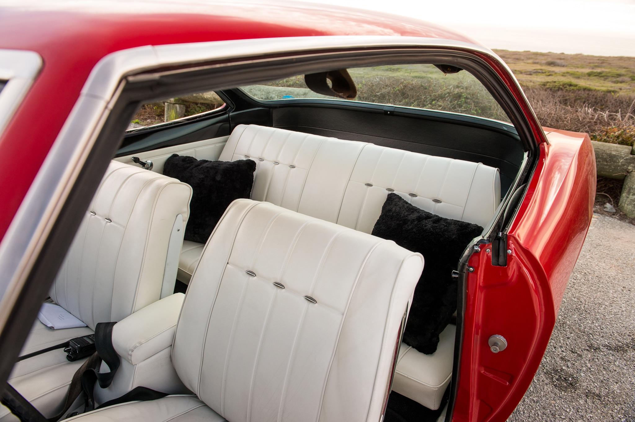 Chevrolet Corvair Interior on 1969 Corvair Corsa