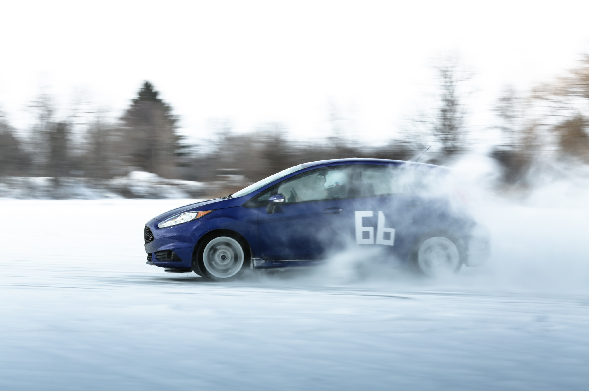 2014 Ford Fiesta St The St Goes Ice Racing