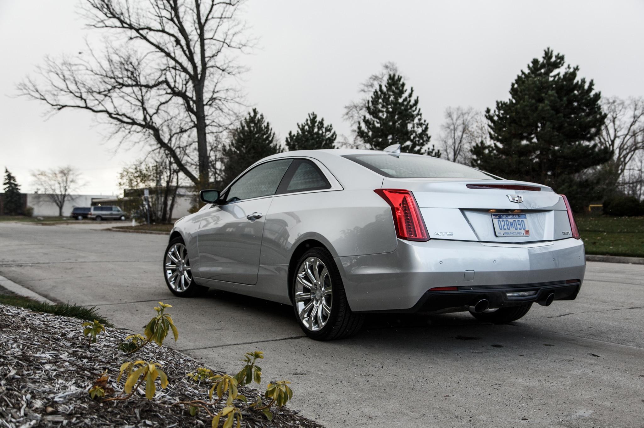 2015 Cadillac ATS Coupe 2 0T Manual Around the Block