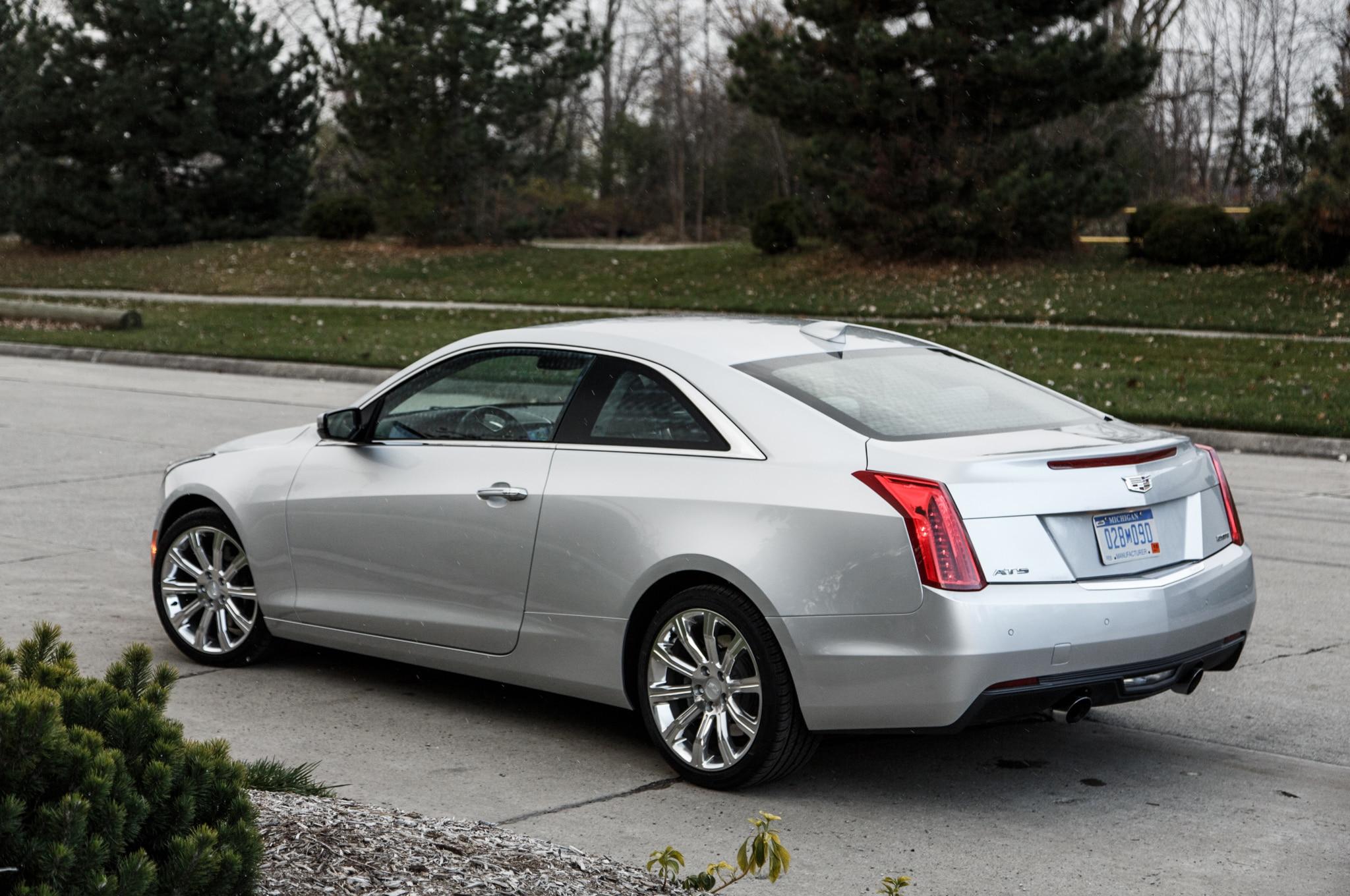 Cadillac Ats 2.0 T >> 2015 Cadillac ATS Coupe 2.0T Manual: Around the Block