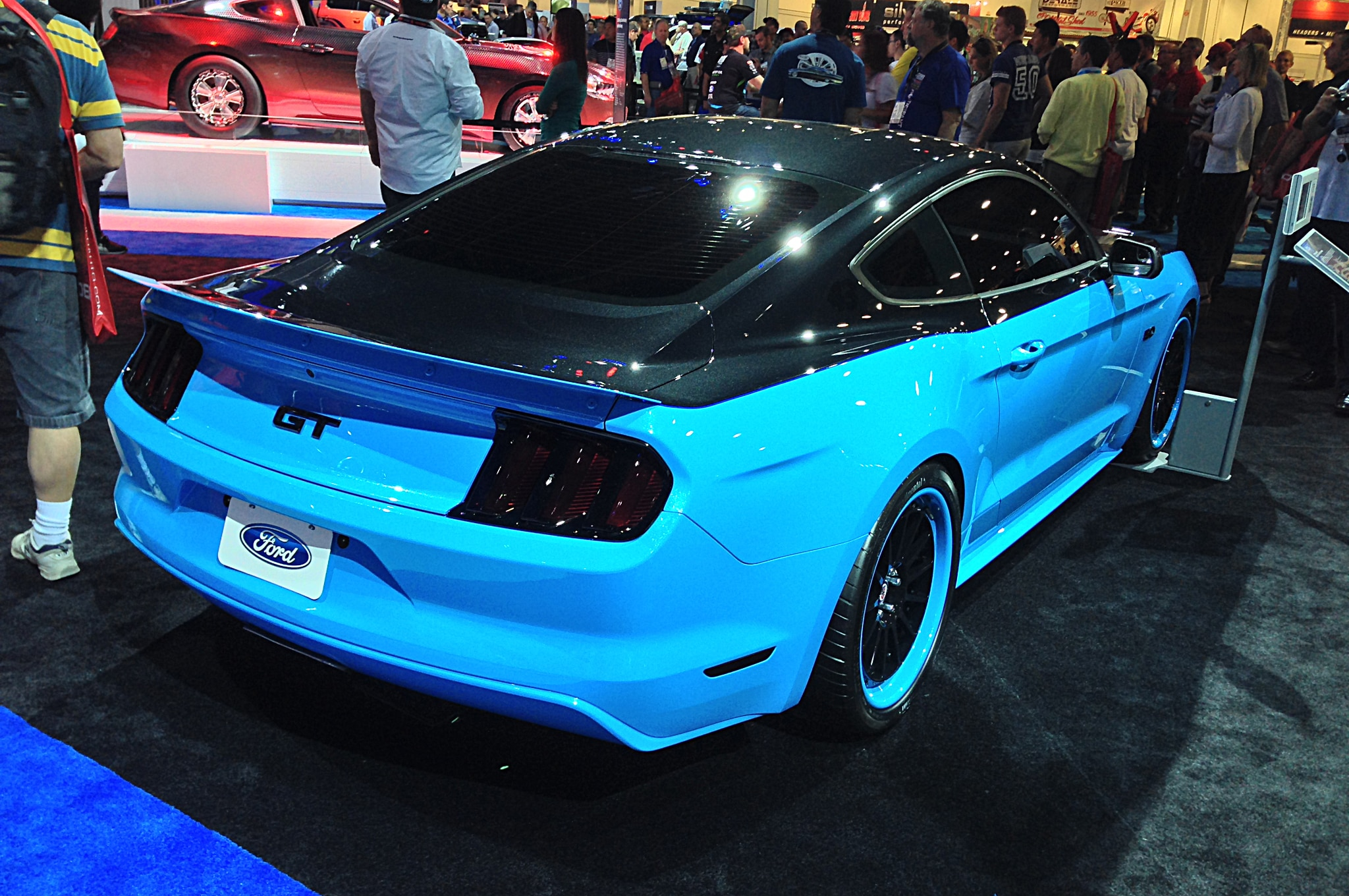 Petty 39 s garage 2015 ford mustang gt entering limited for Garage ford paris 11