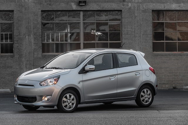 the mirage hatchback has sold remarkably well in the us16708 units in 2014and the addition of a sedan which will likely carry an even lower price than