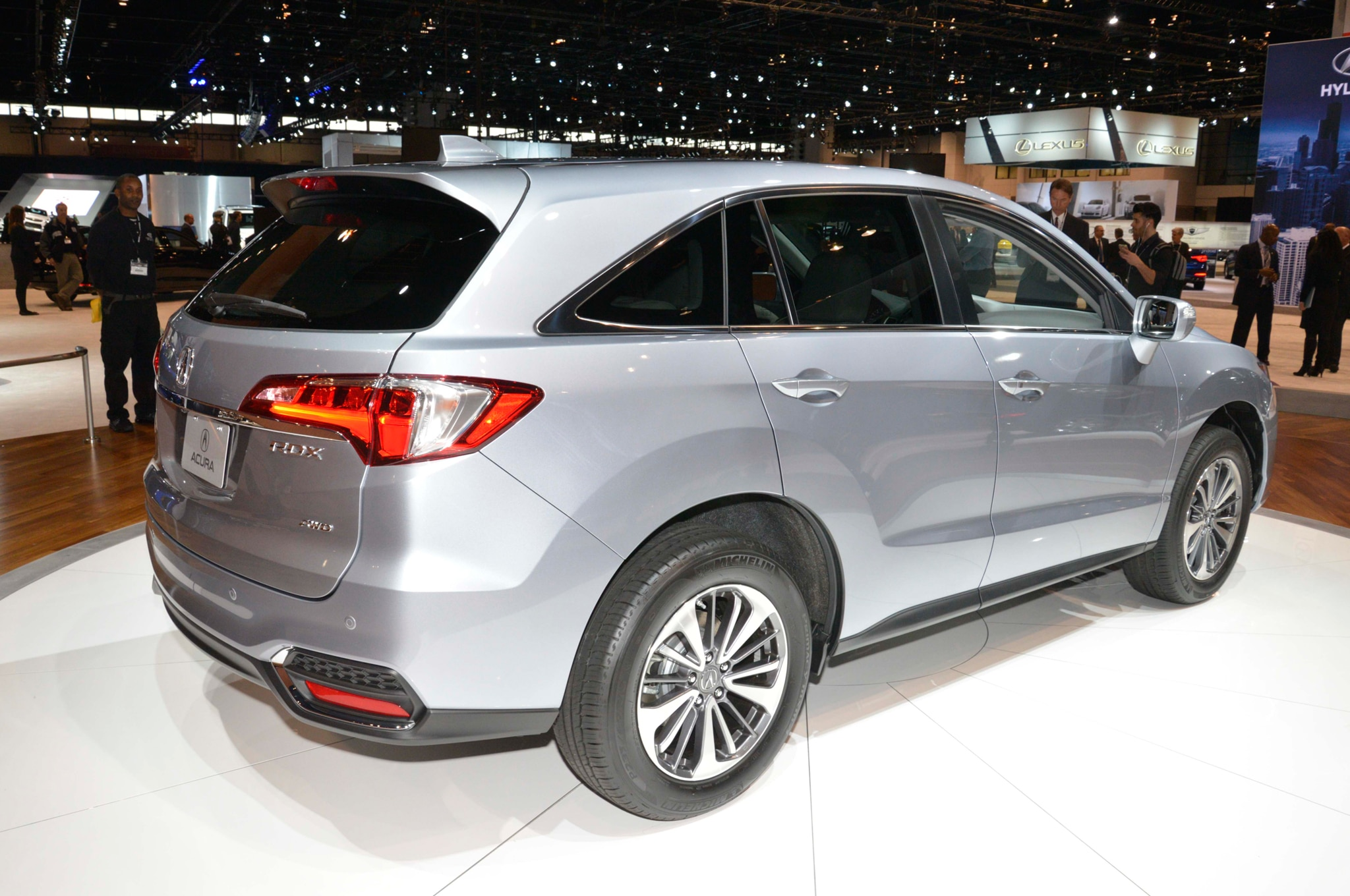 2016 acura rdx refresh debuts at chicago auto show. Black Bedroom Furniture Sets. Home Design Ideas