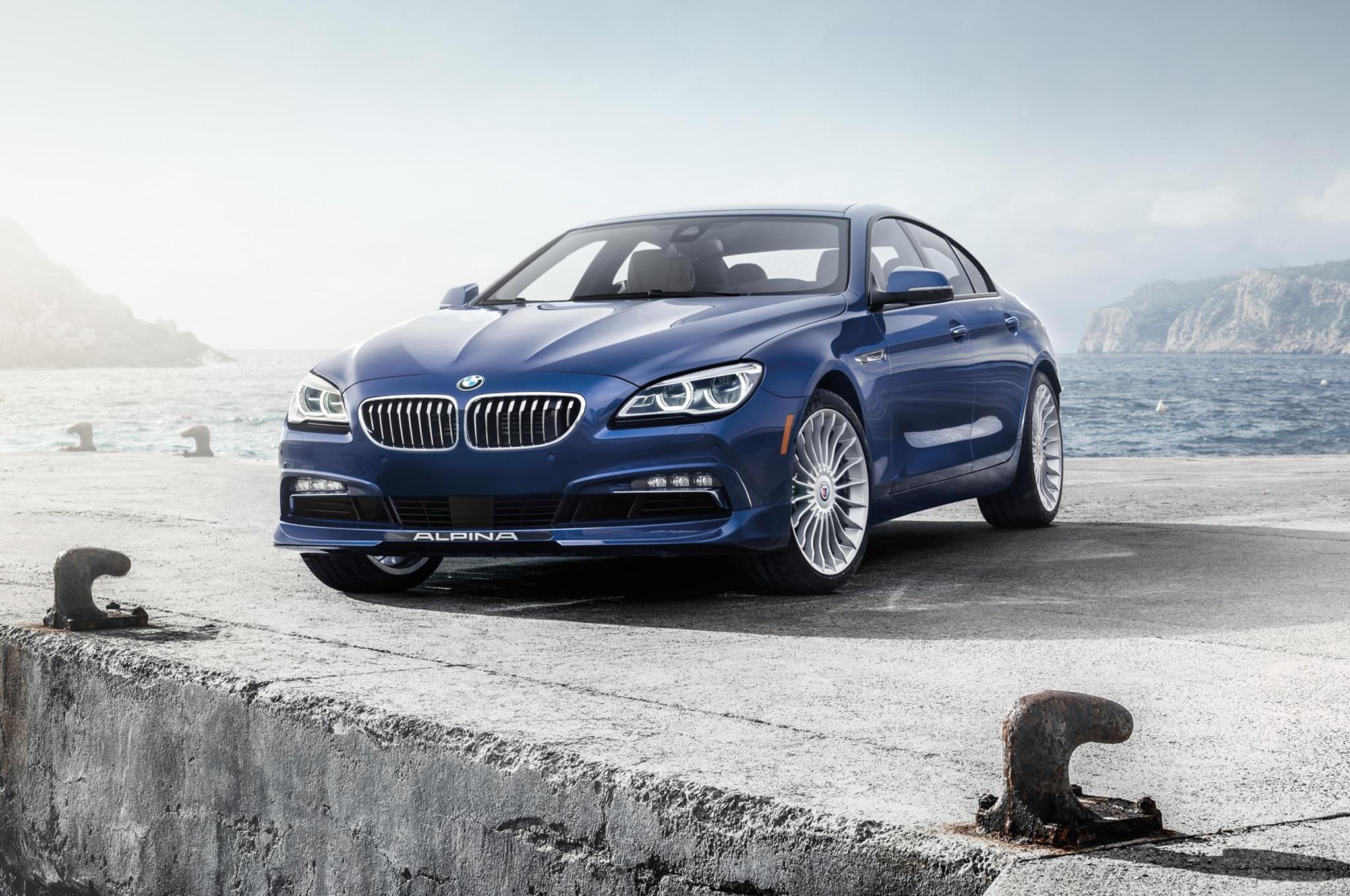 2016 BMW Alpina B6 XDrive Gran Coupe Bumps Power To 600 HP 6 Advertisement Skip 1