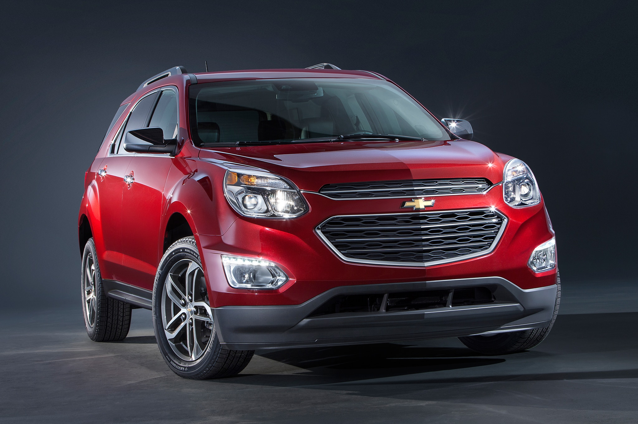 refreshed 2016 chevrolet equinox debuts in chicago. Black Bedroom Furniture Sets. Home Design Ideas