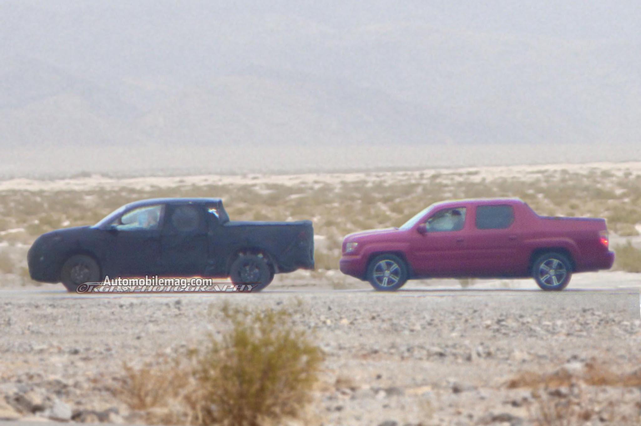 Next Generation Honda Ridgeline Sketch Shows New Truck