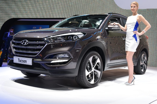 2016 hyundai tucson revealed in europe. Black Bedroom Furniture Sets. Home Design Ideas