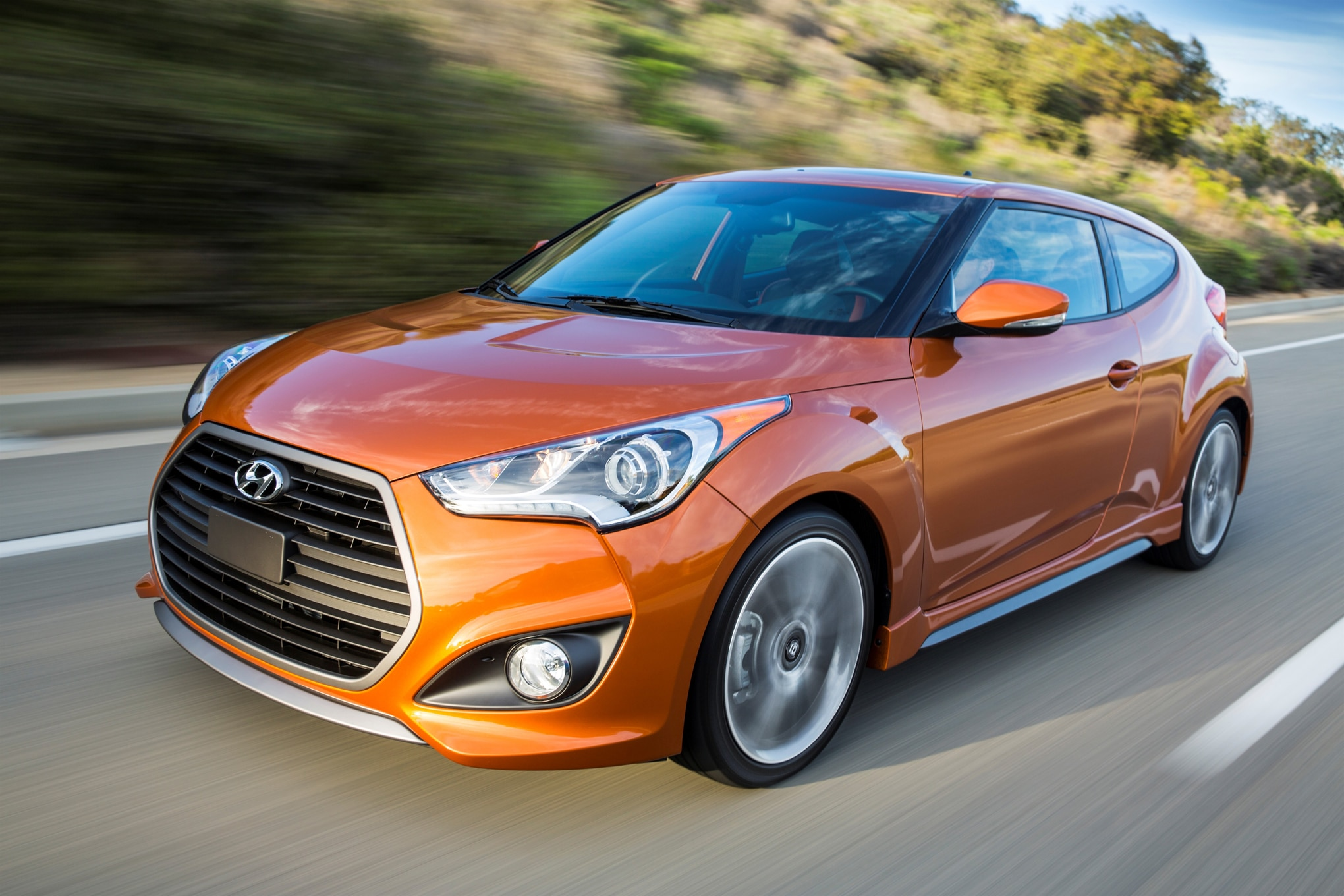 2016 hyundai veloster turbo unveiled in chicago with new 7 speed dct. Black Bedroom Furniture Sets. Home Design Ideas