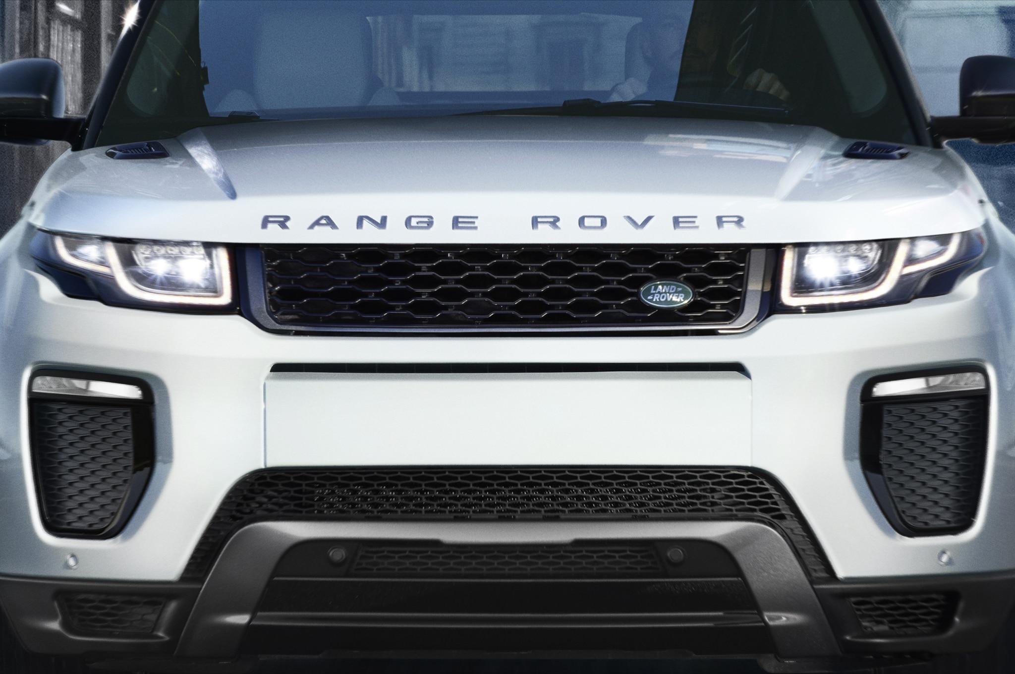 2016 range rover evoque debuts ahead of geneva. Black Bedroom Furniture Sets. Home Design Ideas