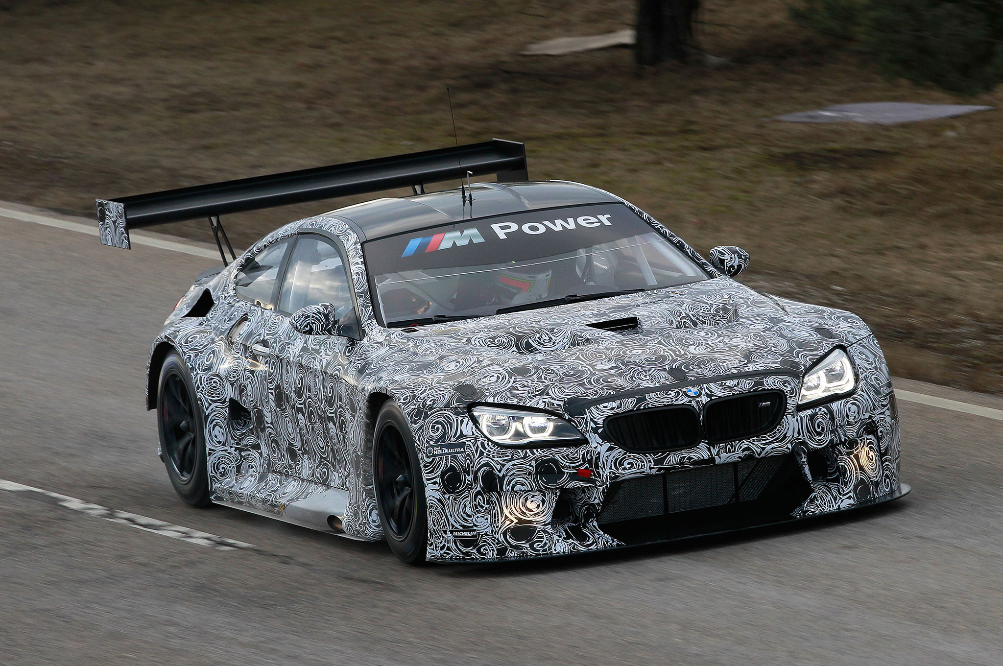 Bmw M6 Gt3 Racing Car Revealed