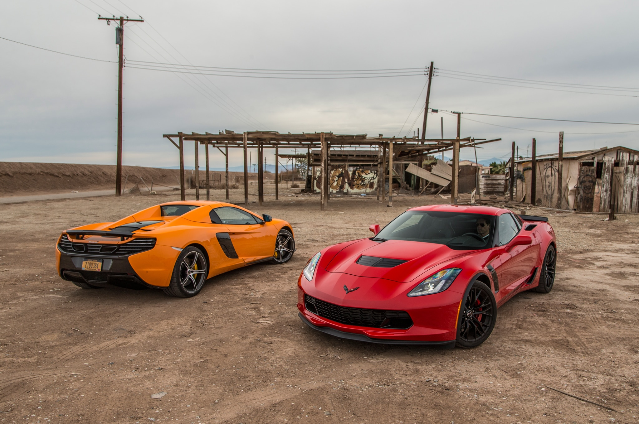 Corvette-Z06-vs-McLaren-650S-Spider-12 Mesmerizing Porsche 911 Turbo Vs Z06 Cars Trend