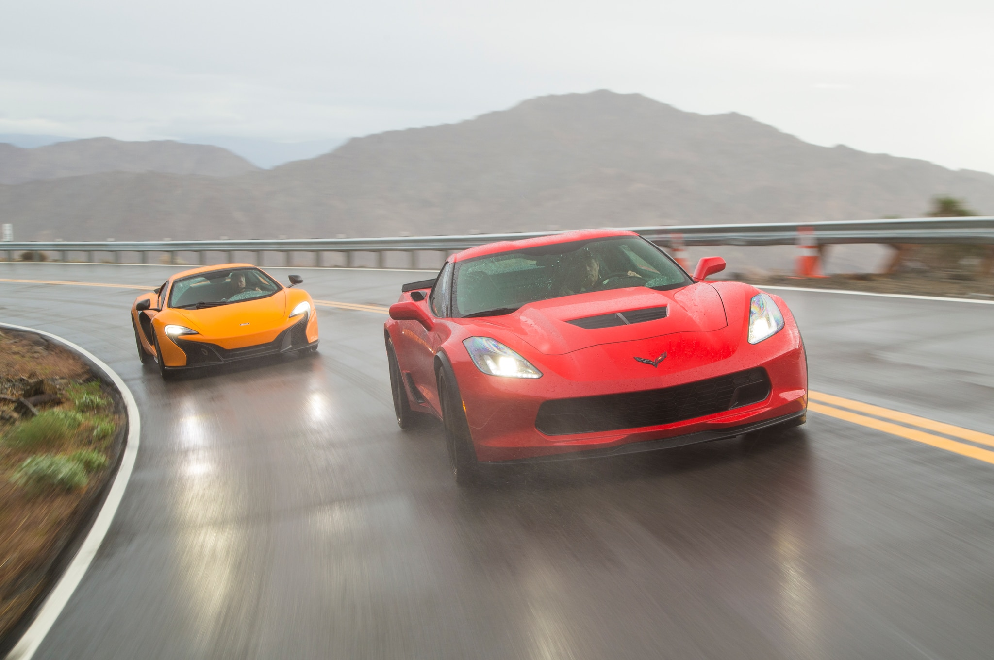 Corvette-Z06-vs-McLaren-650S-Spider-23 Mesmerizing Porsche 911 Turbo Vs Z06 Cars Trend