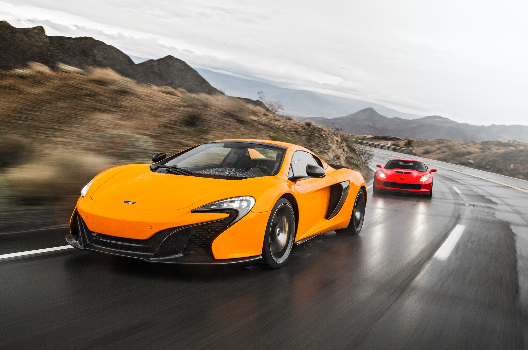 Corvette-Z06-vs.-McLaren-650S-Spider-06 Mesmerizing Porsche 911 Turbo Vs Z06 Cars Trend