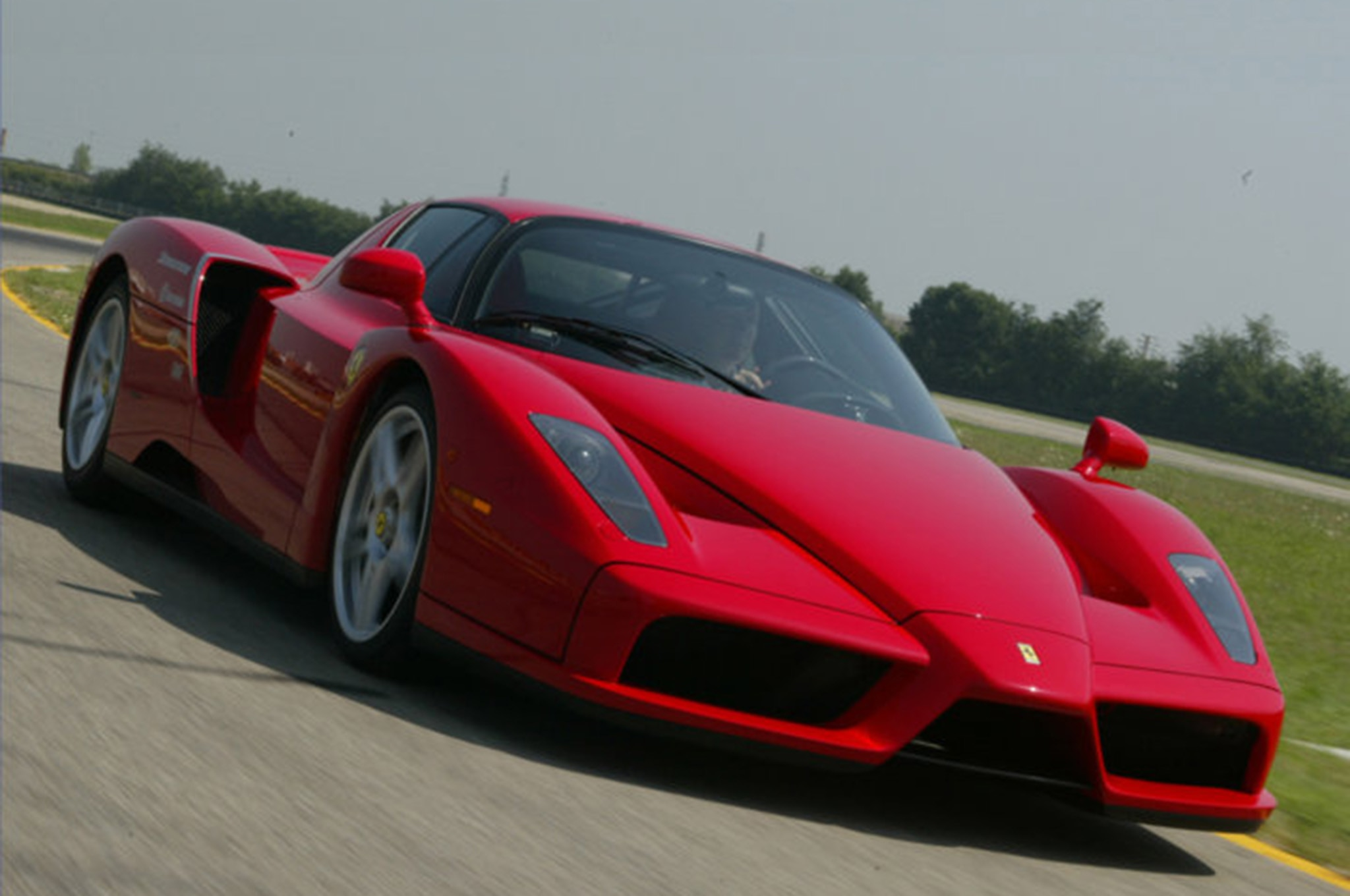 The GTO, A Road Going Version Of The 599XX Racing Car, Produced 661 Hp. It  Also Lapped Fiorano Faster Than This Next Ferrari.