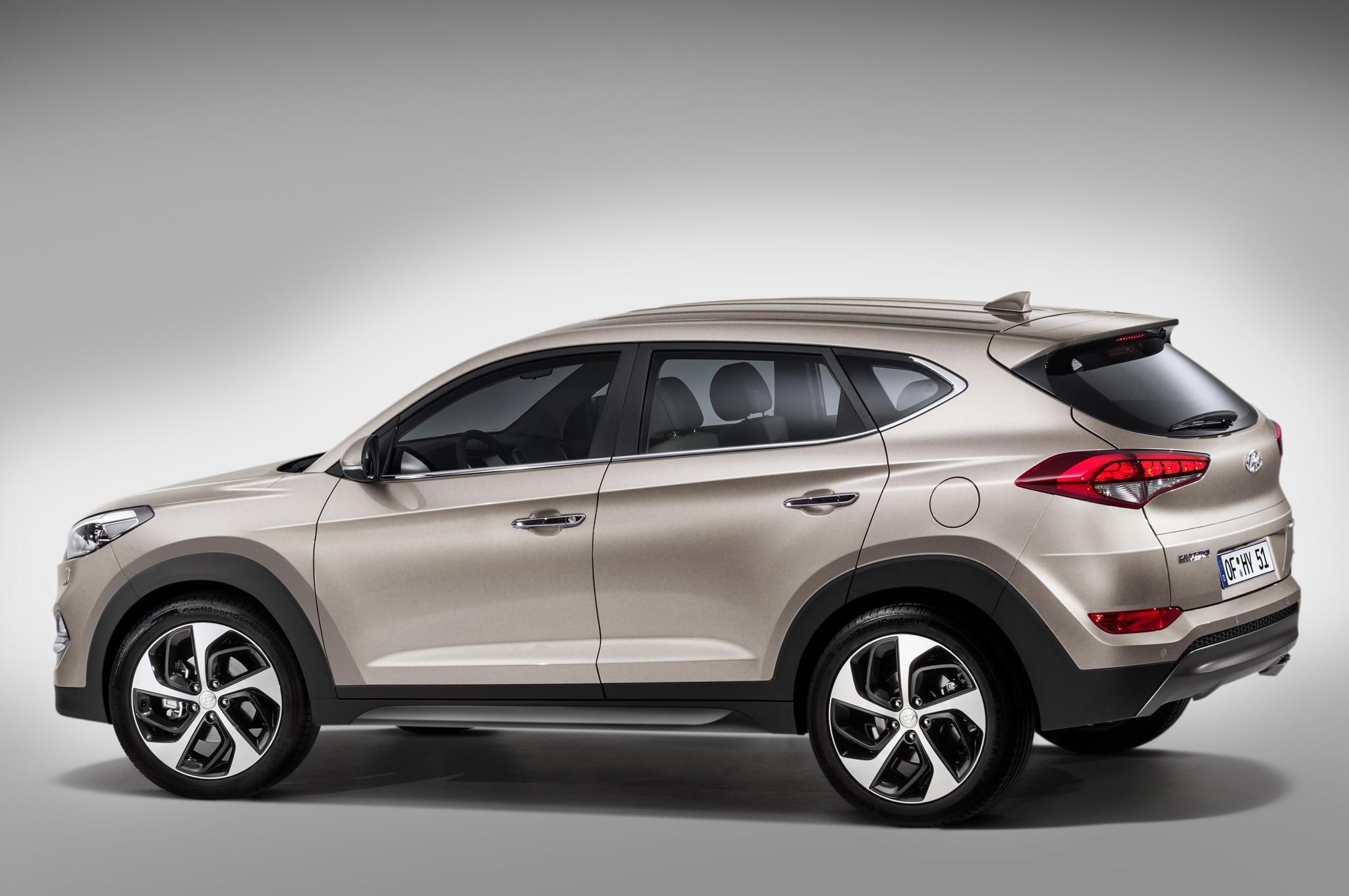 2016 Hyundai Tucson Revealed In Europe