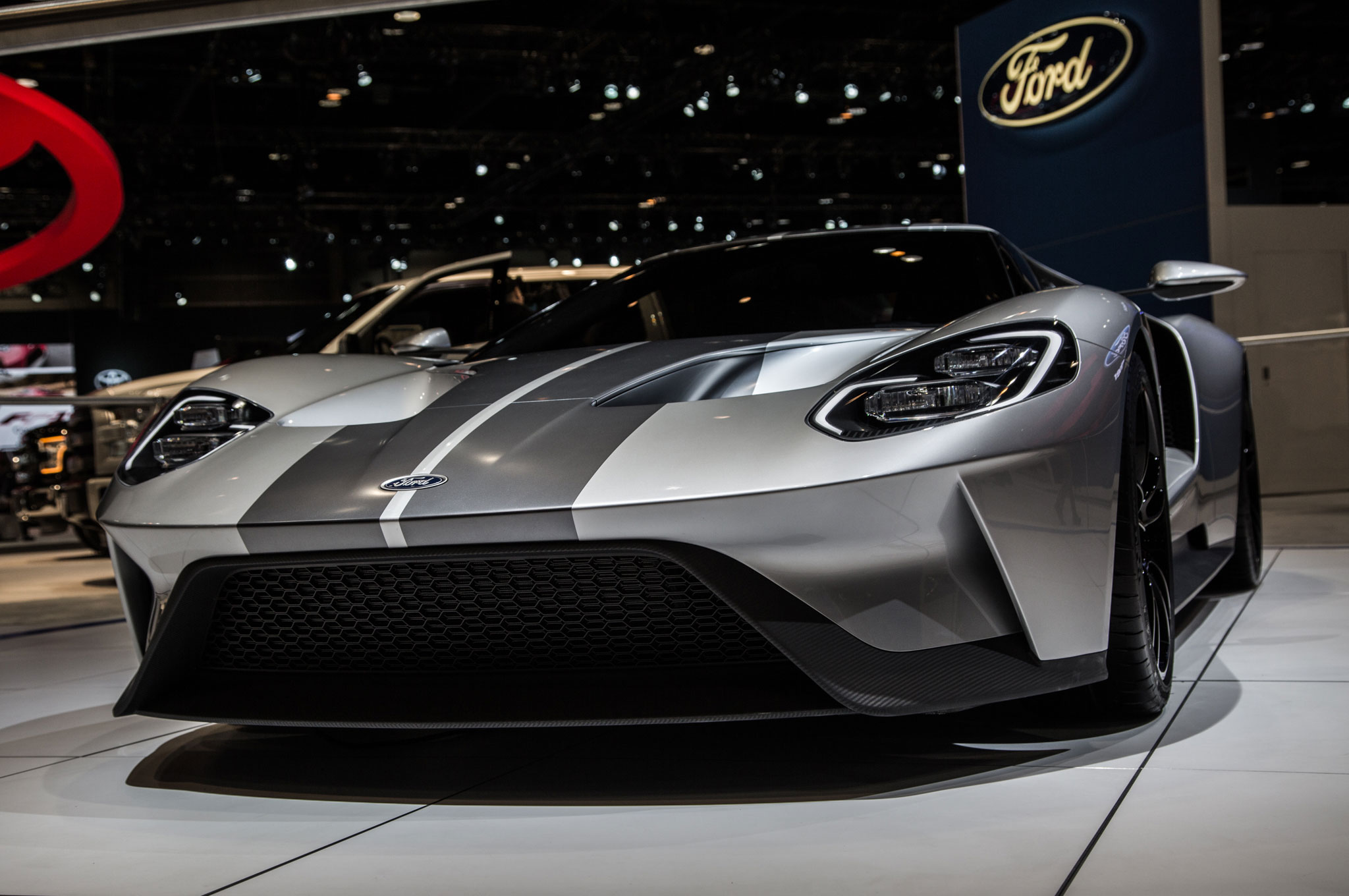 Ford GT Repainted Silver For Chicago Show Will Be Produced In Canada - Auto ford