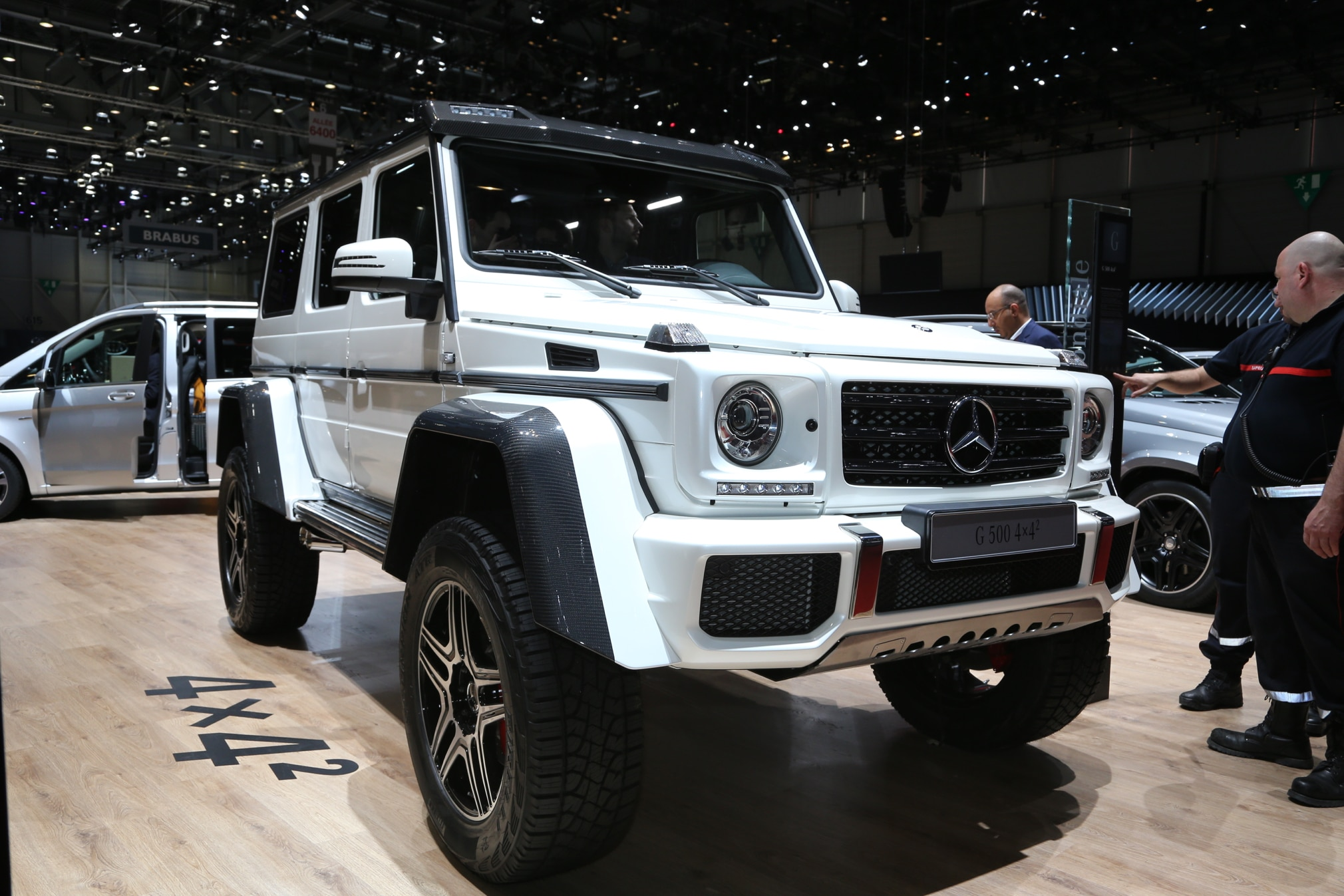 Mercedes benz g500 4x4 squared detailed ahead of geneva debut for Mercedes benz g class 4x4