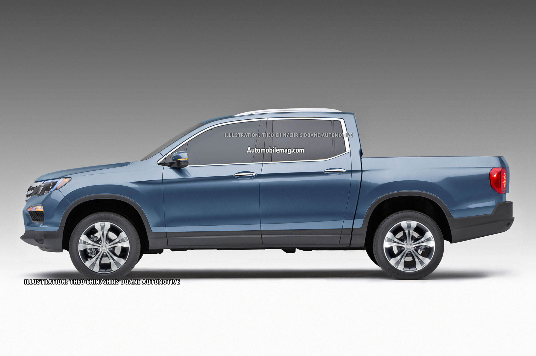 2016 honda ridgeline previewed in renderings. Black Bedroom Furniture Sets. Home Design Ideas