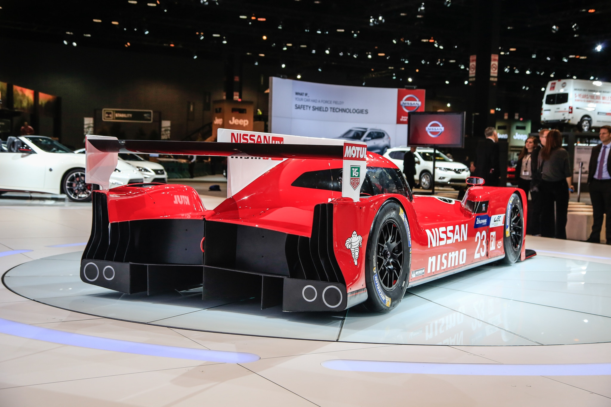 Nissan GTR LM Nismo is FWD for Now Headed to Le Mans