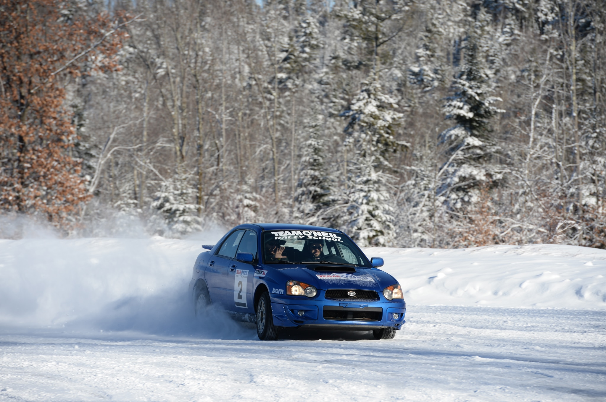 learning to drive a subaru wrx sti rally car in the snow. Black Bedroom Furniture Sets. Home Design Ideas