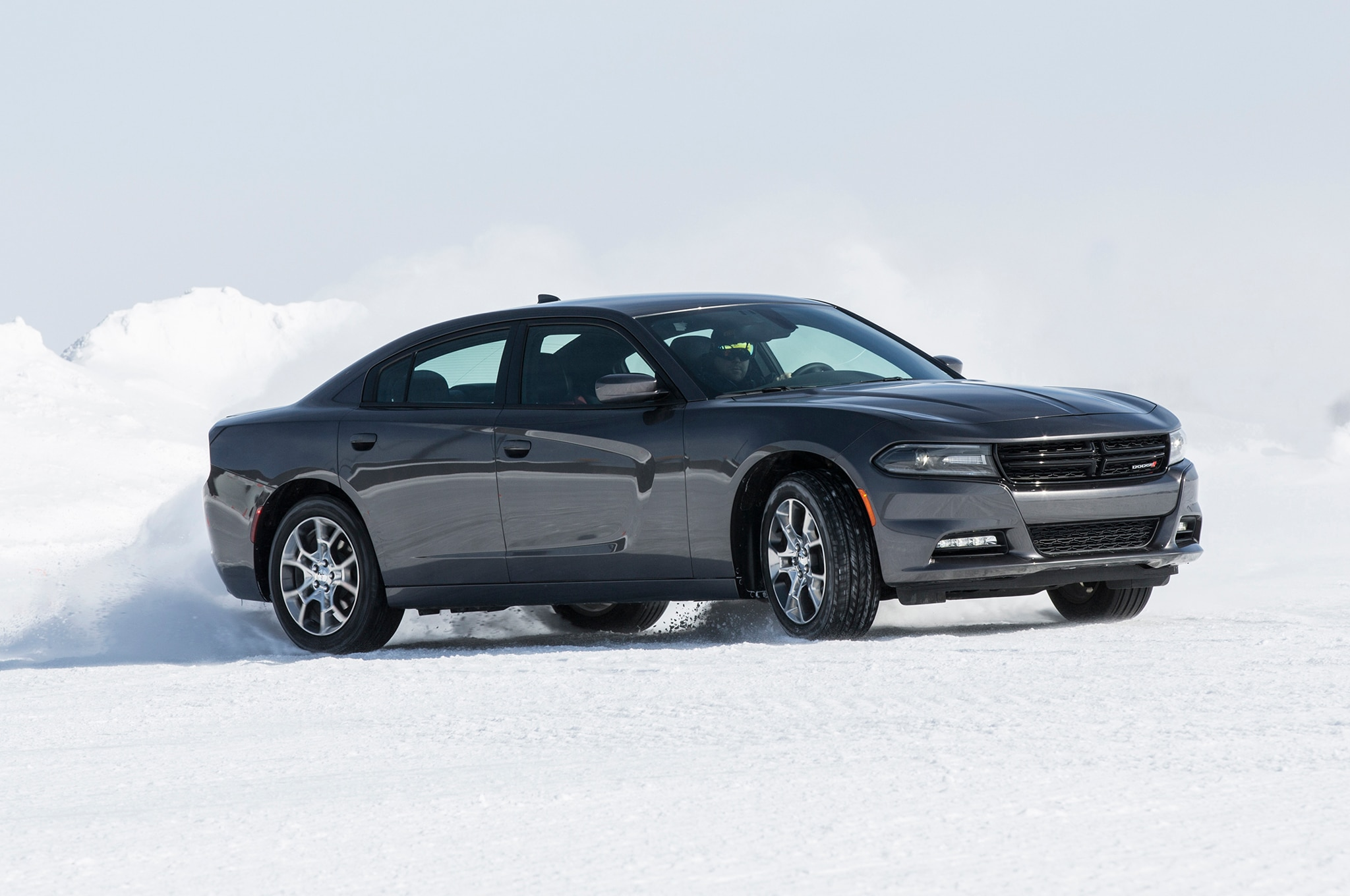 Driving The Dodge Charger Awd Chrysler Awd In Snow