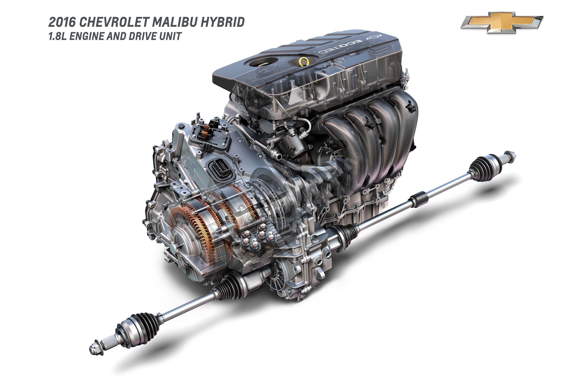 2016 Chevrolet Malibu Hybrid Returns 46 Mpg