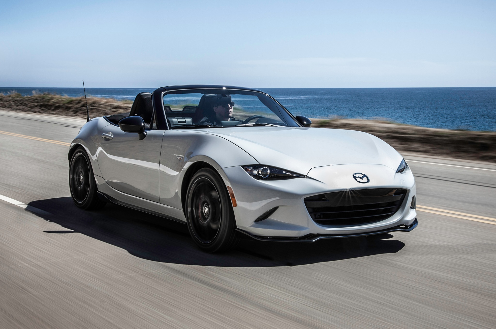 2016 Mazda MX 5 Club Front Three Quarter In Motion