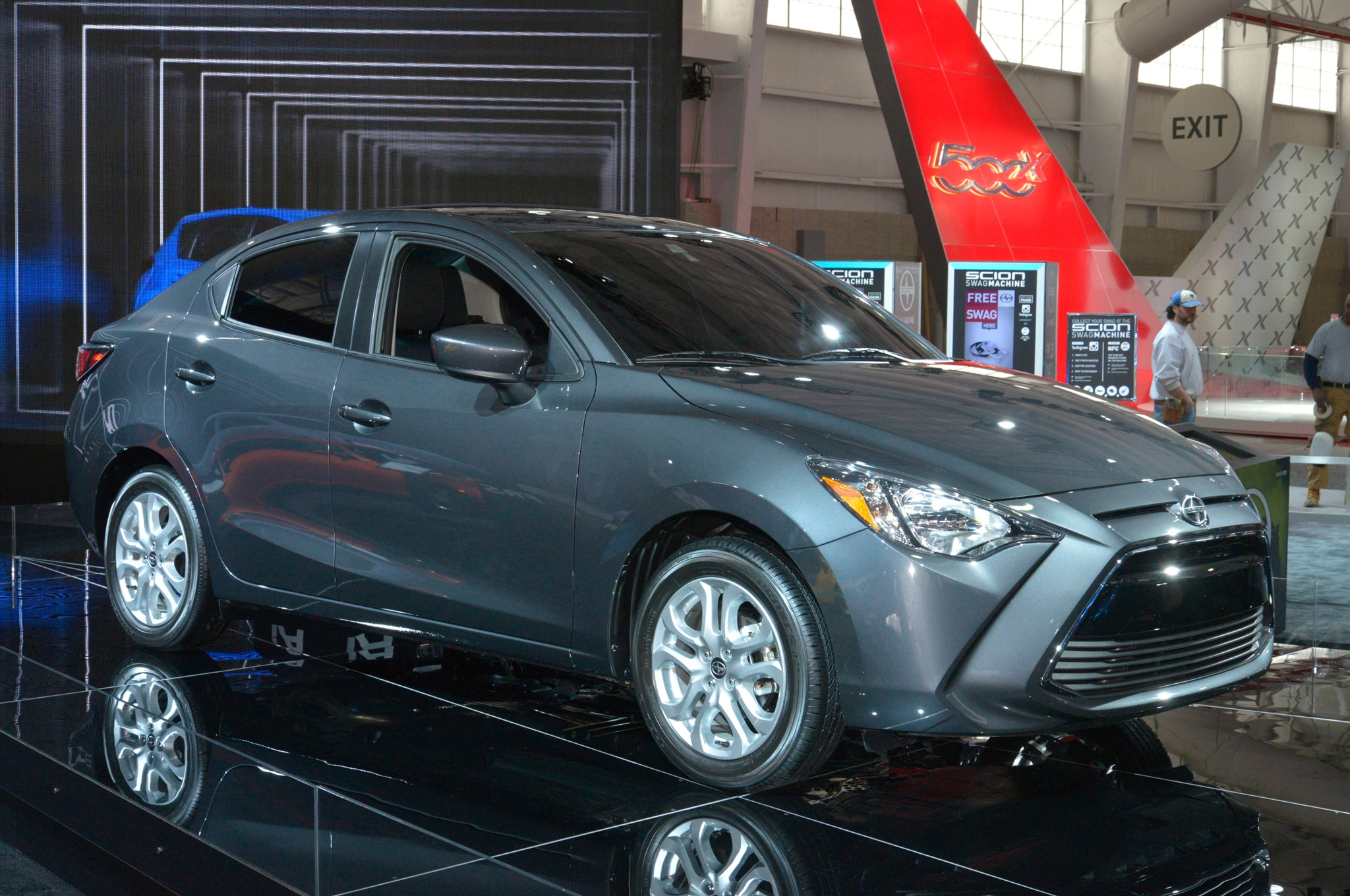 2016 scion ia expands the brand 39 s lineup in new york. Black Bedroom Furniture Sets. Home Design Ideas