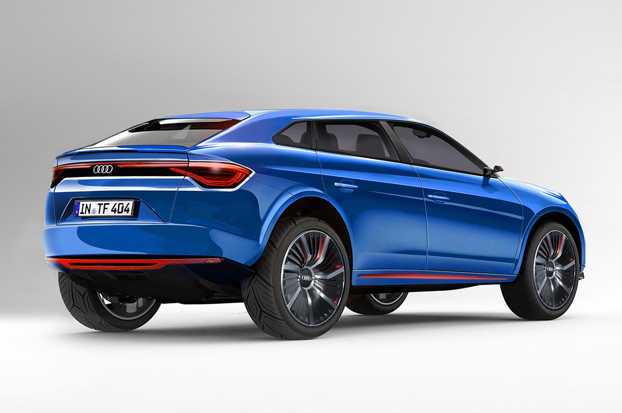 Audi Confirms Autonomous A Q SUV Electric Crossover - Audi 3 suv