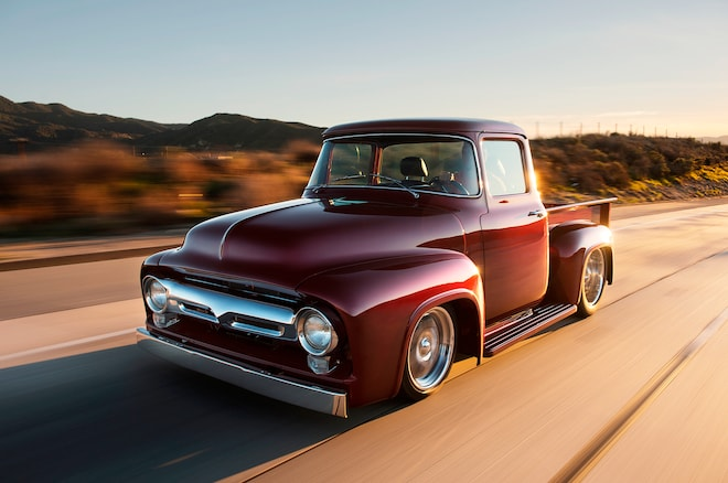 Bsi 1956 X 100 Is A Coyote Powered Ford F Series Restomod