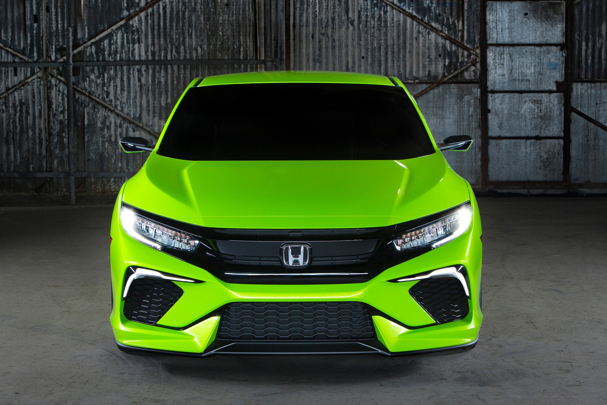 2016 Honda Civic Concept Makes Surprise Appearance In New York