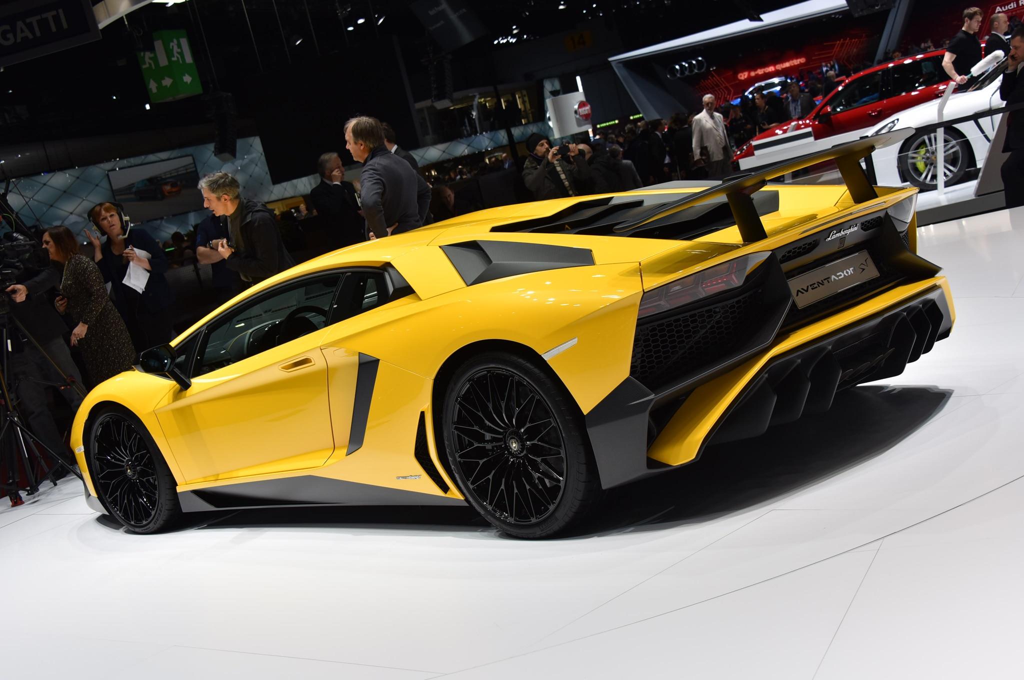 2016 Lamborghini Aventador Lp750 4 Sv Starts At 493 095 In The U S