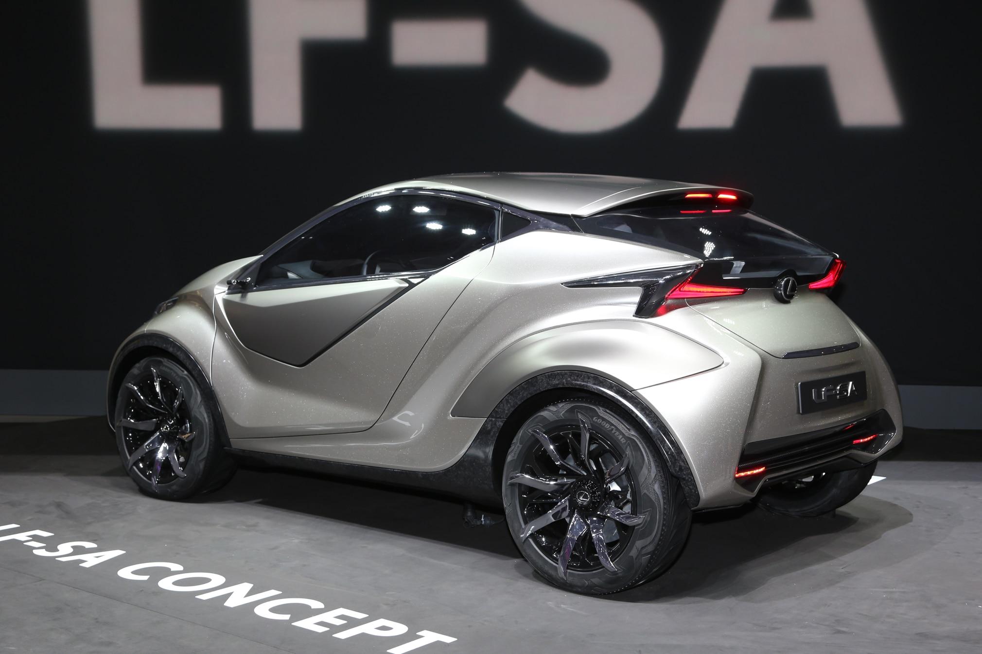 lexus lf-sa city car concept arrives in geneva
