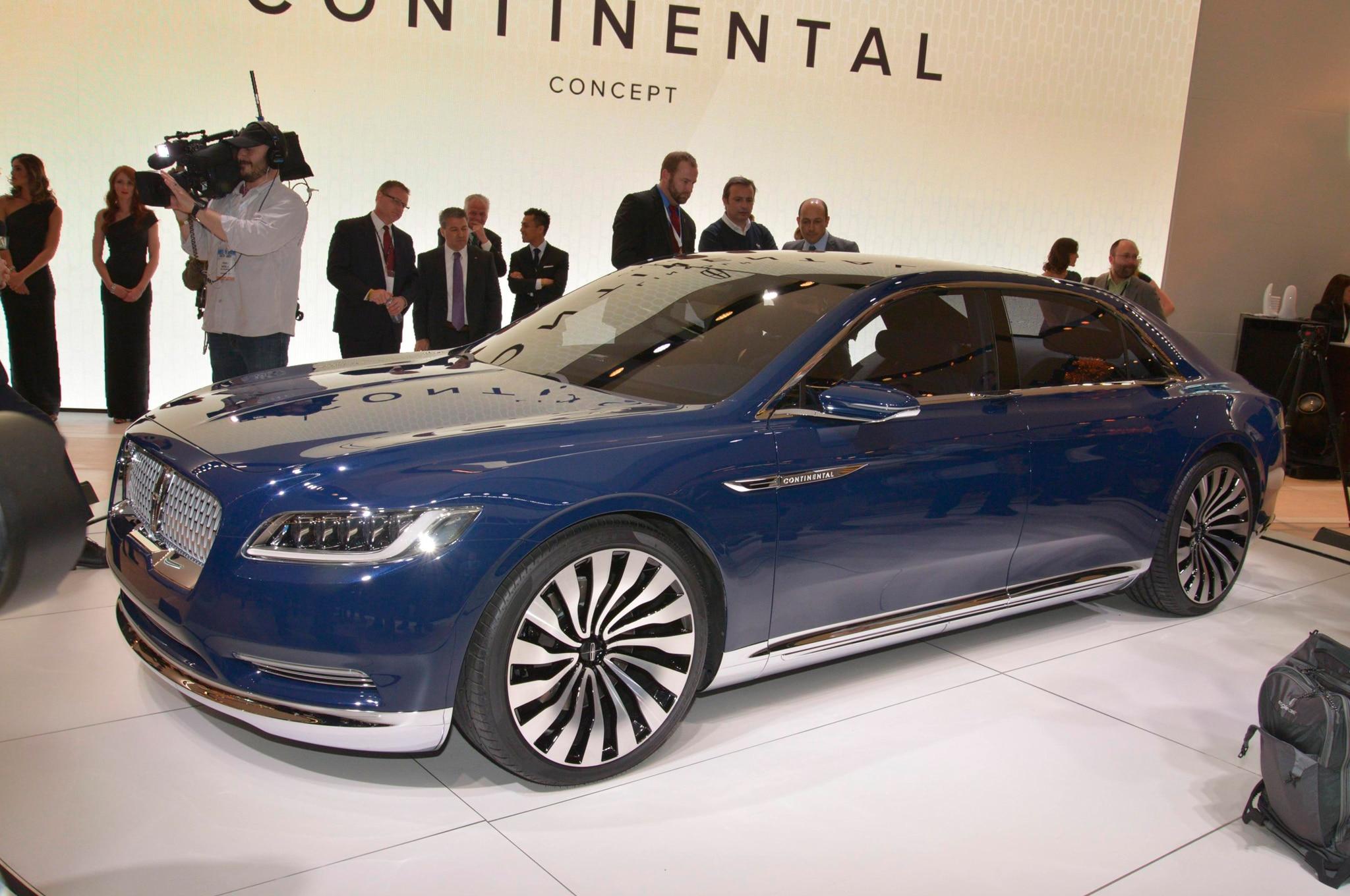 Lincoln Continental Concept Promo