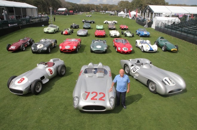Moss With His Cars 660x438