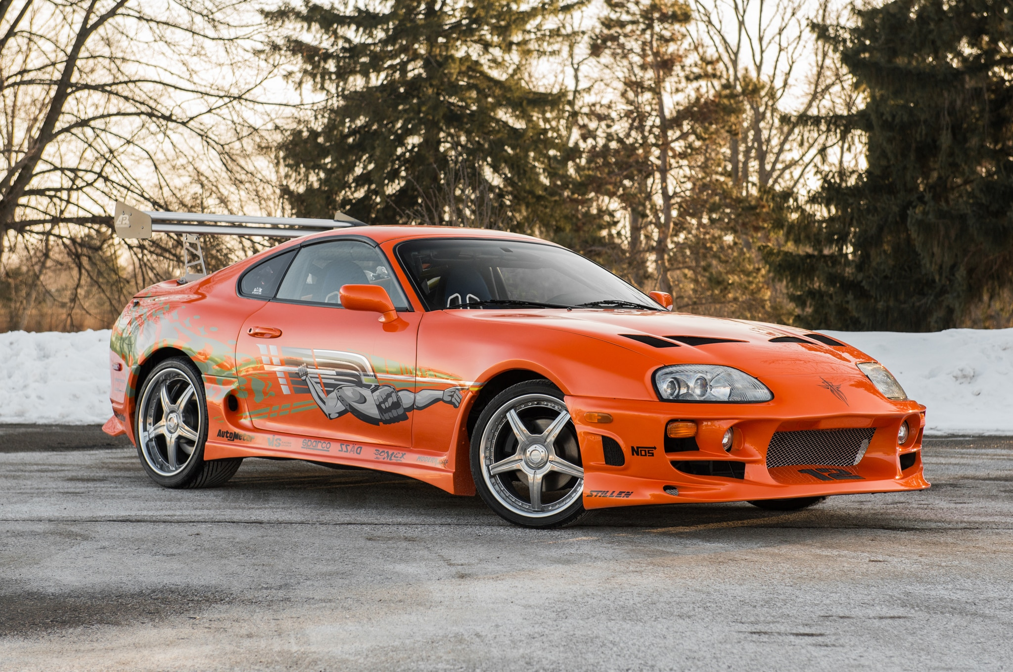 1993 Toyota Supra From The Fast And The Furious Front Three Quarter 03