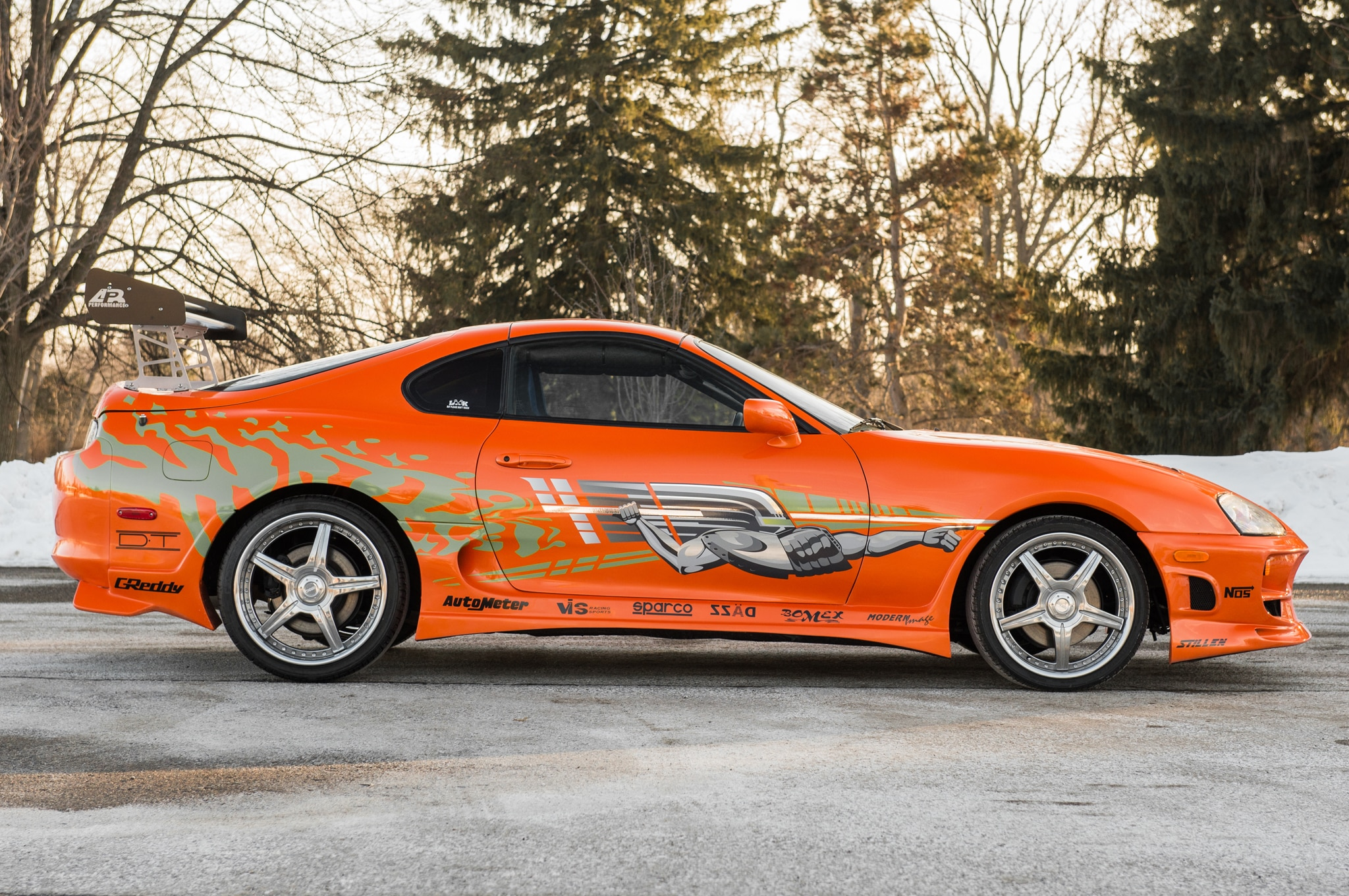 1993 toyota supra from the fast and the furious heading to auction. Black Bedroom Furniture Sets. Home Design Ideas
