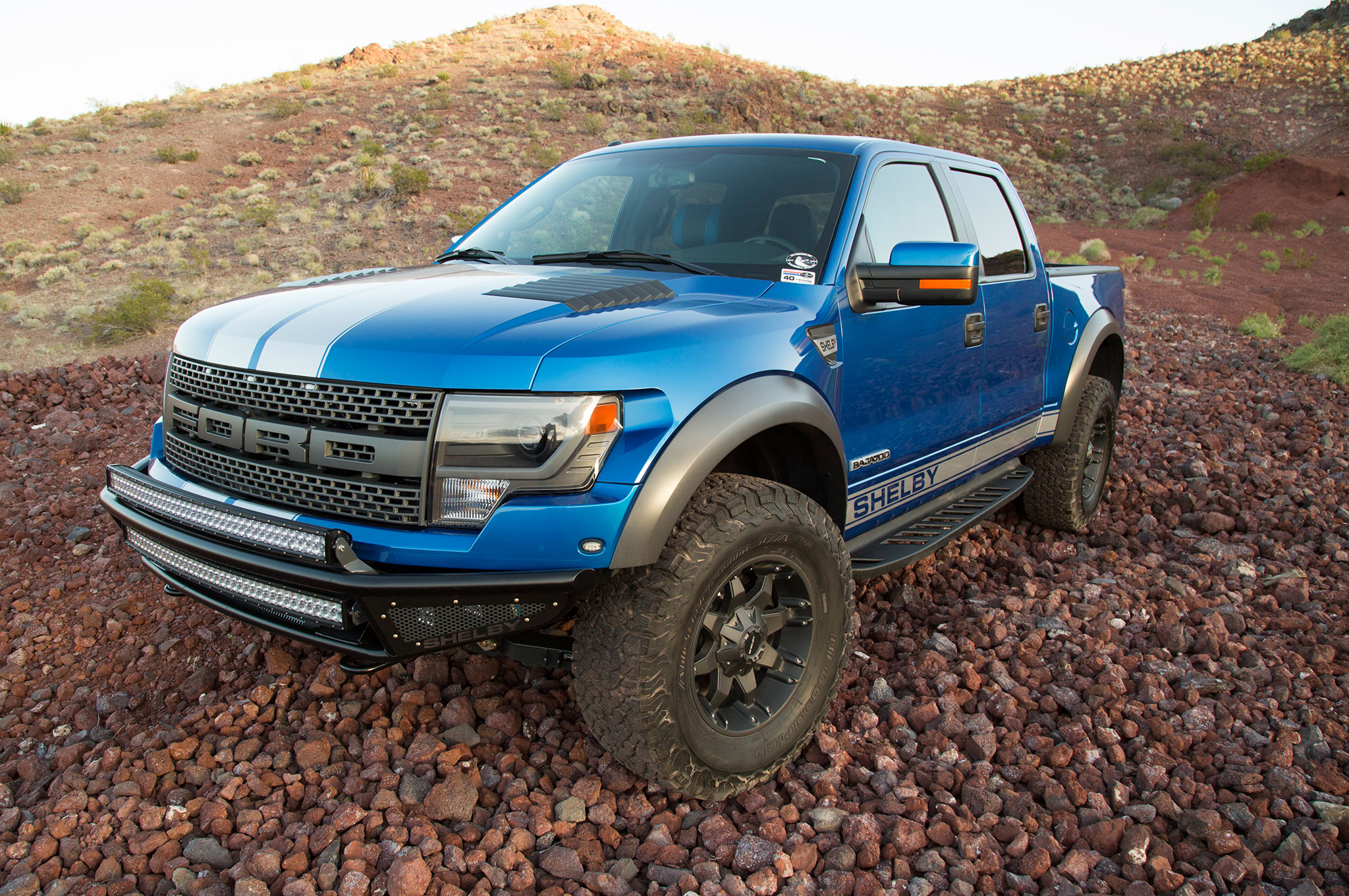 Shelby American Baja 700 Ford F150 SVT Raptor Packs 700 HP