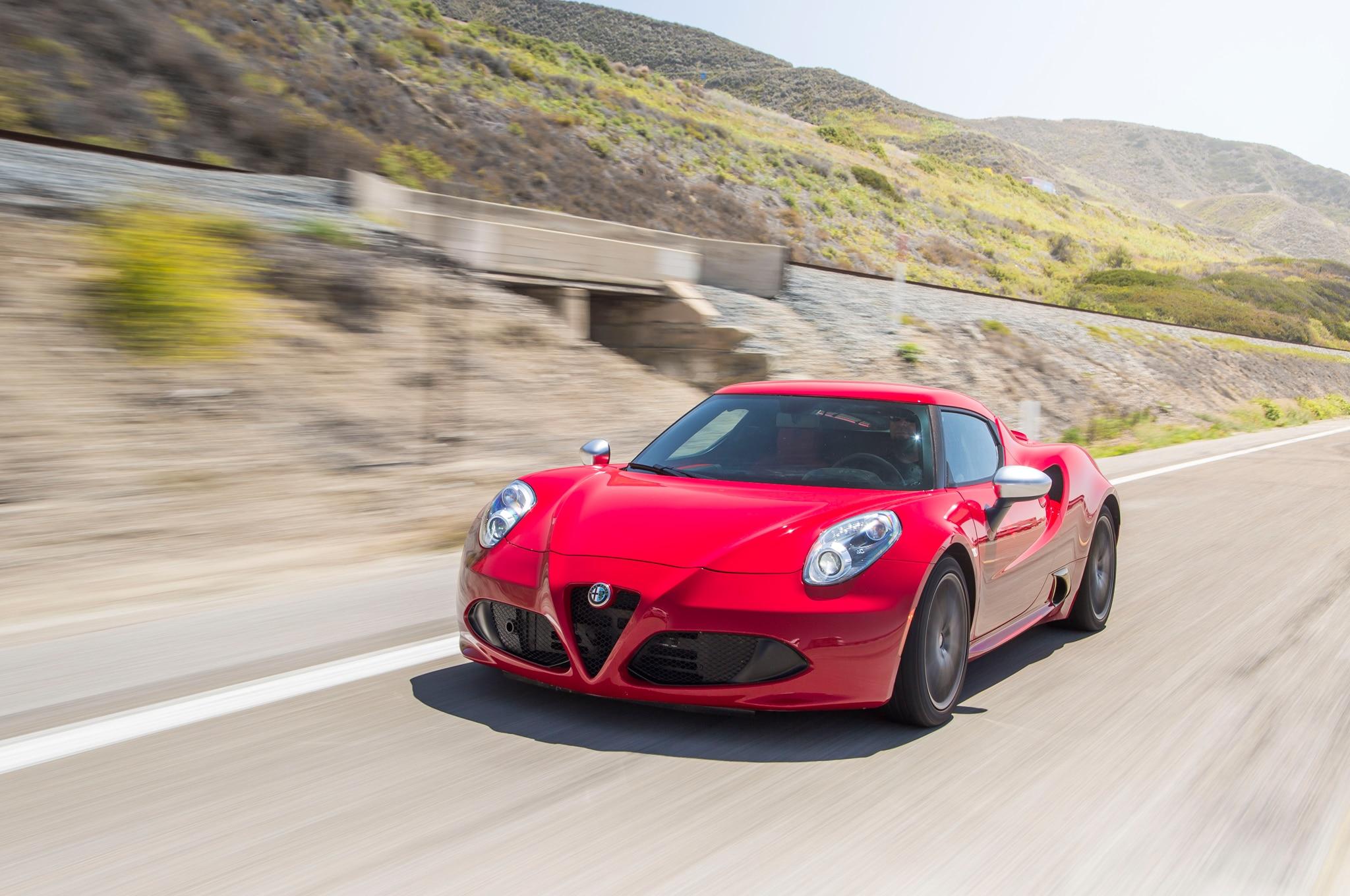 Alfa Romeo C Front Three Quarter In Motion on Alfa Romeo Spider Transmission Mount