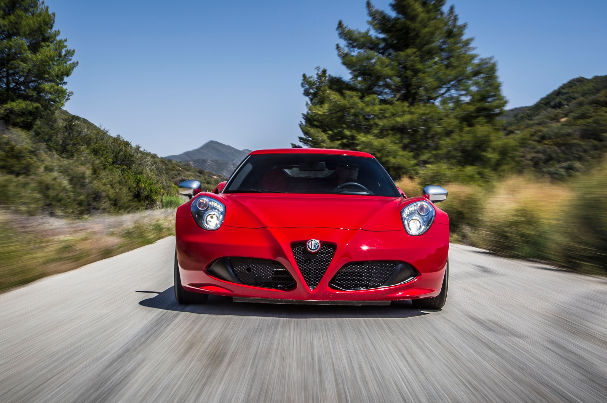 Alfa Romeo C Front View In Motion on Alfa Romeo Spider Door Panel