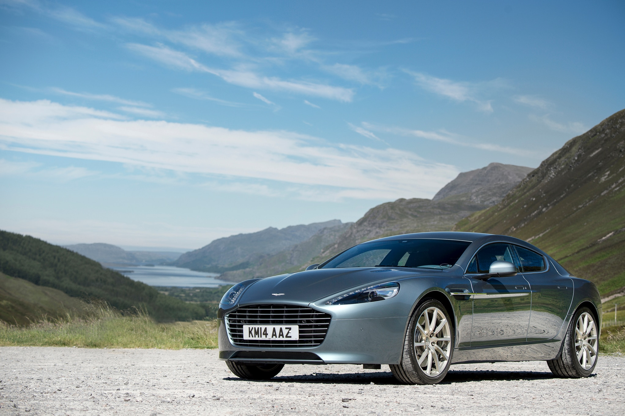The 2015 Aston Martin Rapide S
