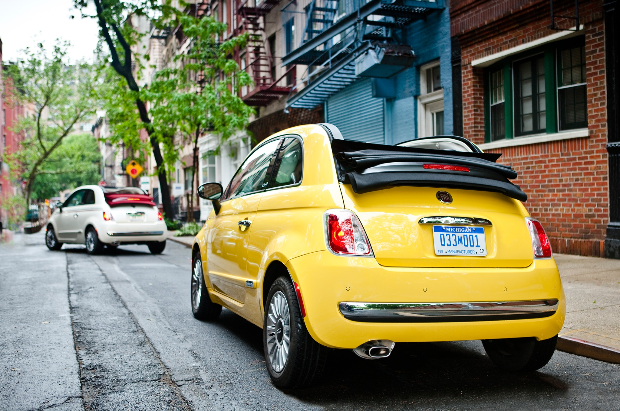 2015 fiat 500 1957 edition spreads to convertible model. Black Bedroom Furniture Sets. Home Design Ideas