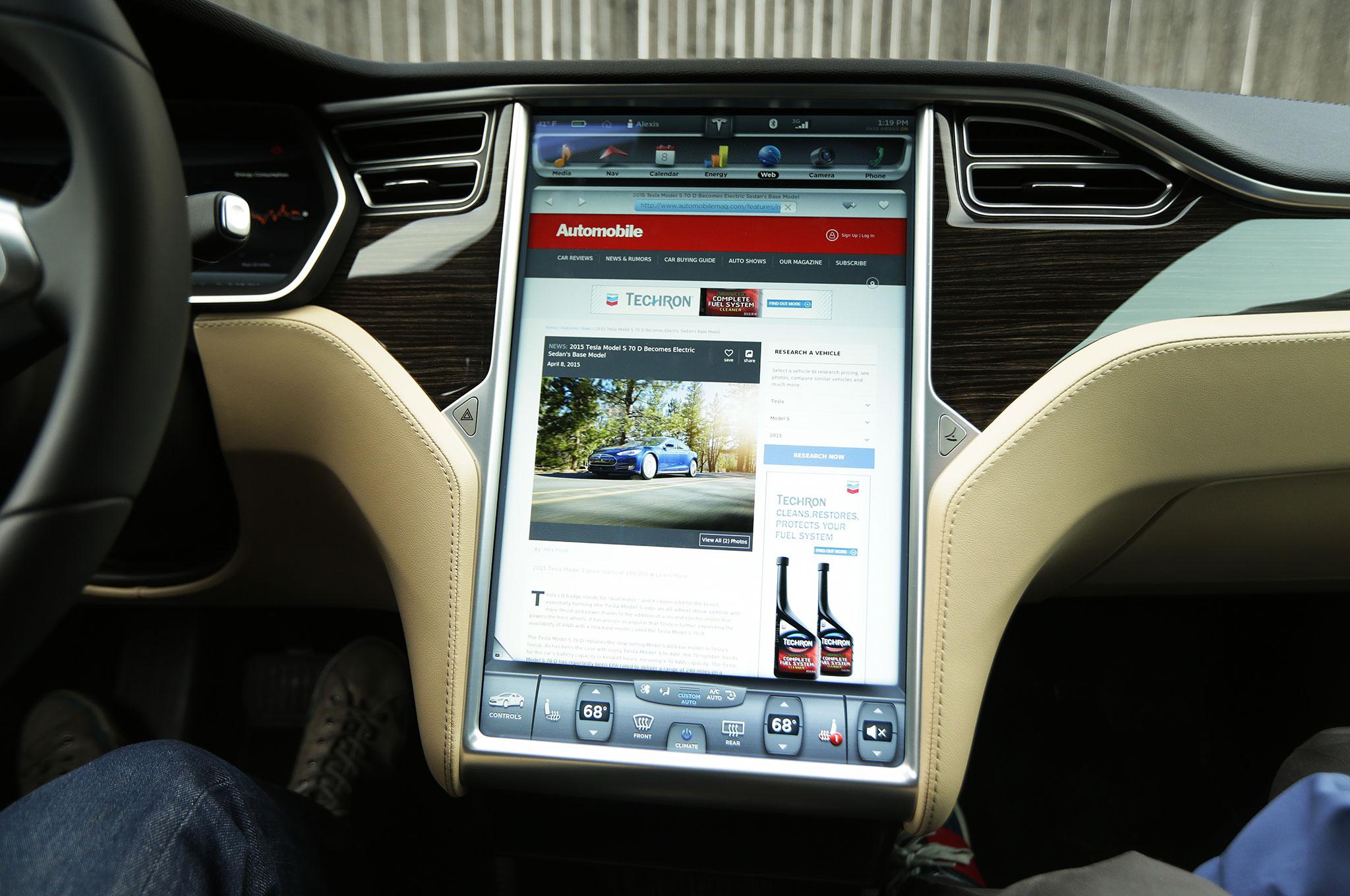 Worksheet. 2015 Tesla Model S 70D Around the Block